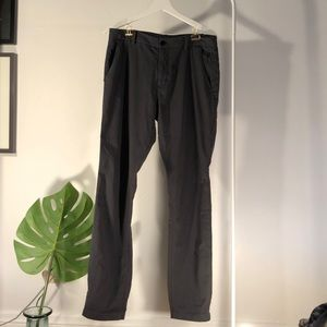 Lululemon Men's Commission Pants in Gray - 34